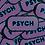 Thumbnail: Psych Sticker