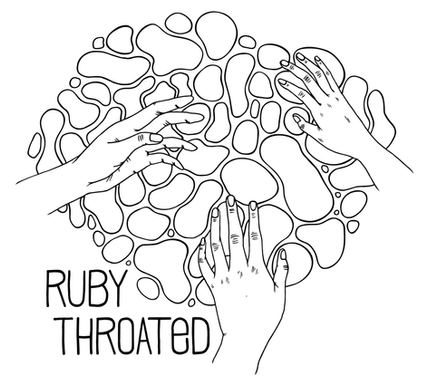 Ruby Throated, tote