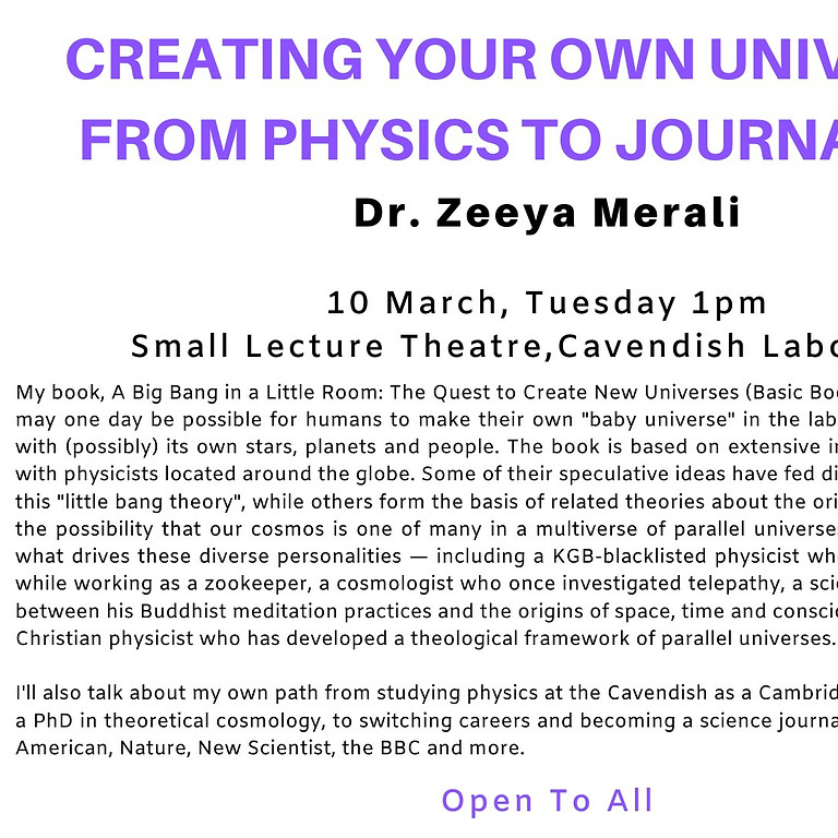 Creating Your Own Universe: From Physics to Journalism