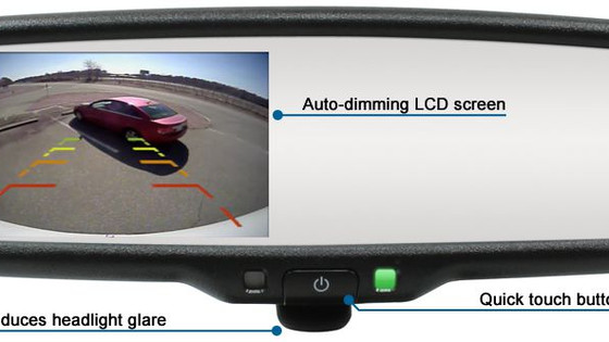 "Rostra 250-8208 4.3"" LCD-Equipped Rearview Mirror Updated"
