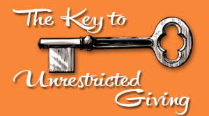 The Key to Unrestricted Giving
