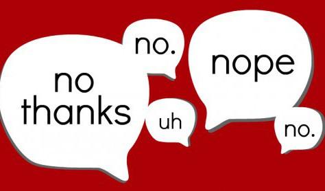 "Leadership Monday: Responses to ""No"""