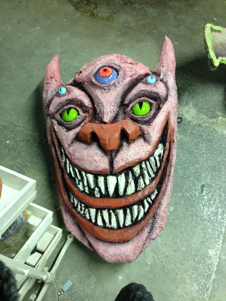 Creature head for TRAUMA