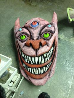 Creature head for TRAUMA