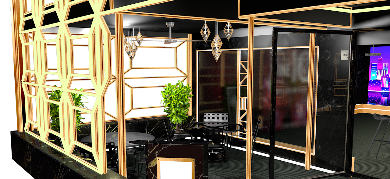 Decoration Design & 3D Modeling
