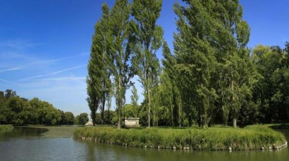 Parc Jean-Jacques Rousseau à Ermenonville