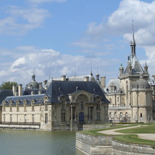 Parc, jardins et Château de Chantilly