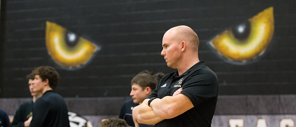 PESH+head+coach+Bryan+Kenney+watches+a+m