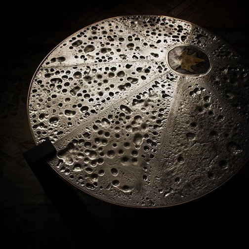 Moonscape #yanndessauvages #pewter #moon