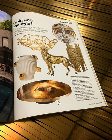 Gold save the style! Thanks to _elledeco