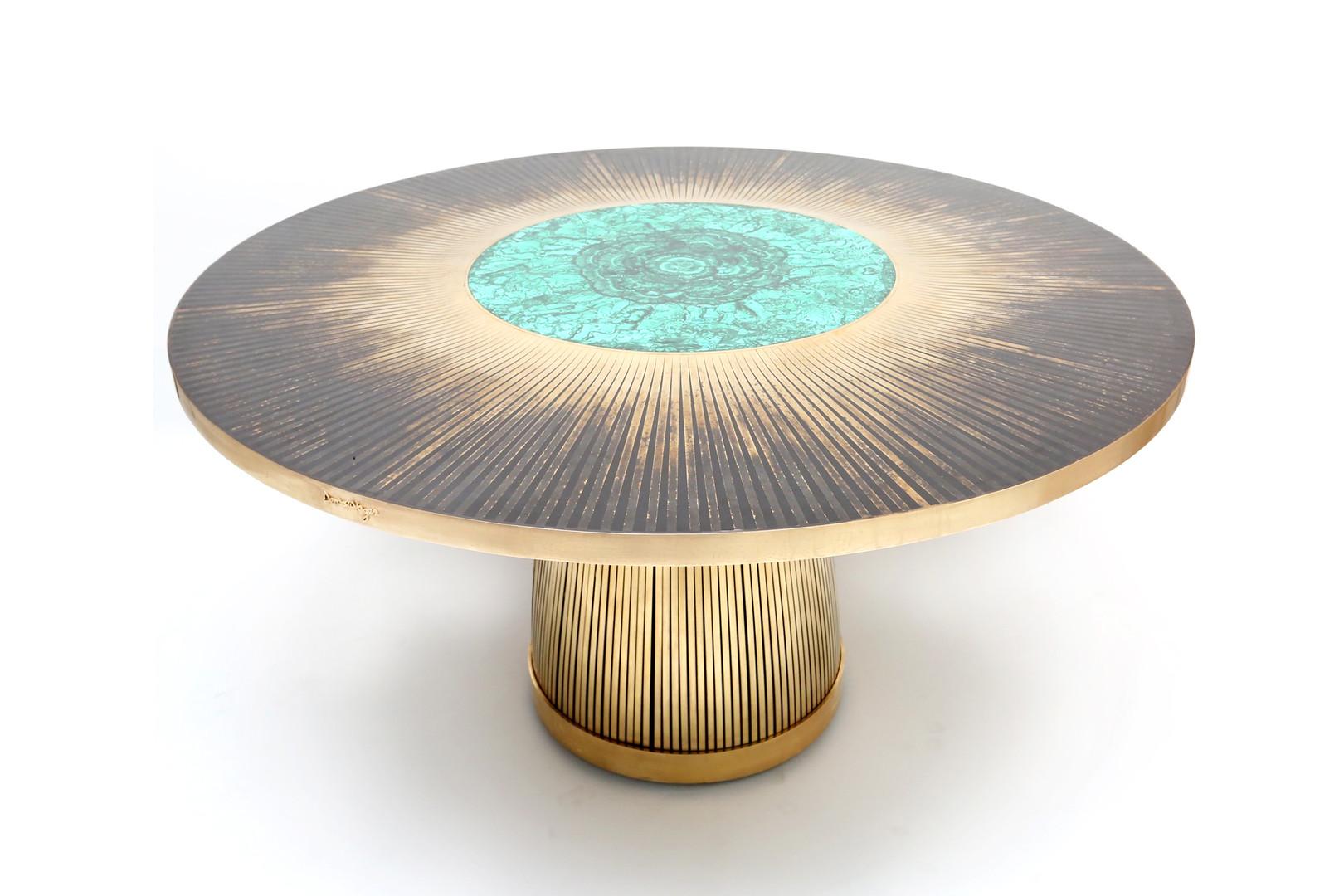 Malachite dining Table