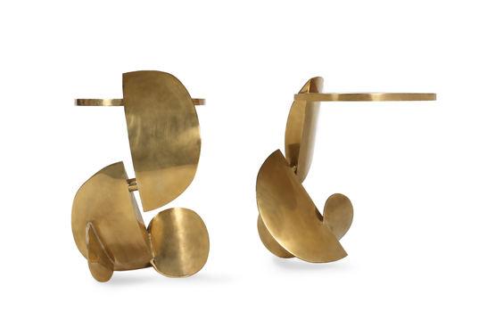Dina sculptural side table