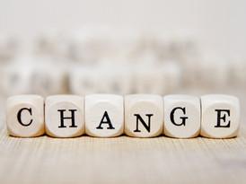 Veränderung ist die einzige Konstante im Leben!