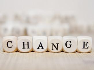 Nichts ist so beständig wie die Veränderung.