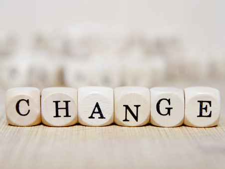 A letter about change!