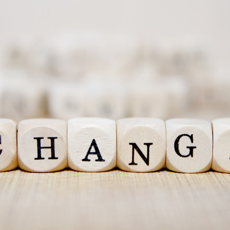 Plan Ahead - Don't Shy Away from Change