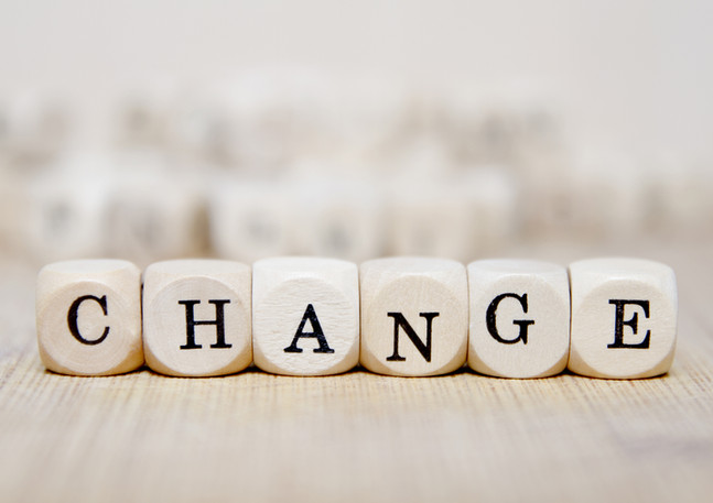 Embracing change? A must!