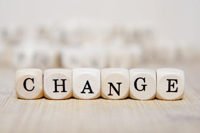 El cambio nos hace crecer, desarrollarnos y avanzar