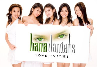 Home Parties promo card