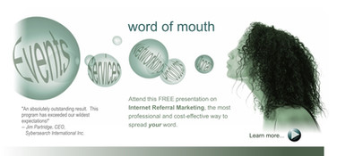 Word of Mouth panel ad