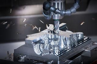 Machine engraving steel