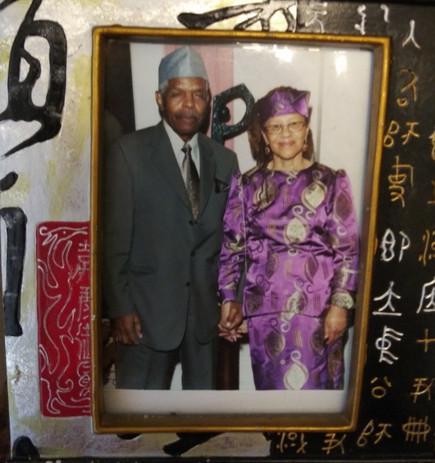 Ancestor Dr. James Peace Jr. and spouse Dr. Gloria Latimore-Peace