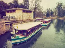 Zámecký park - přístaviště