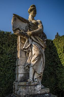 Zámecký park socha