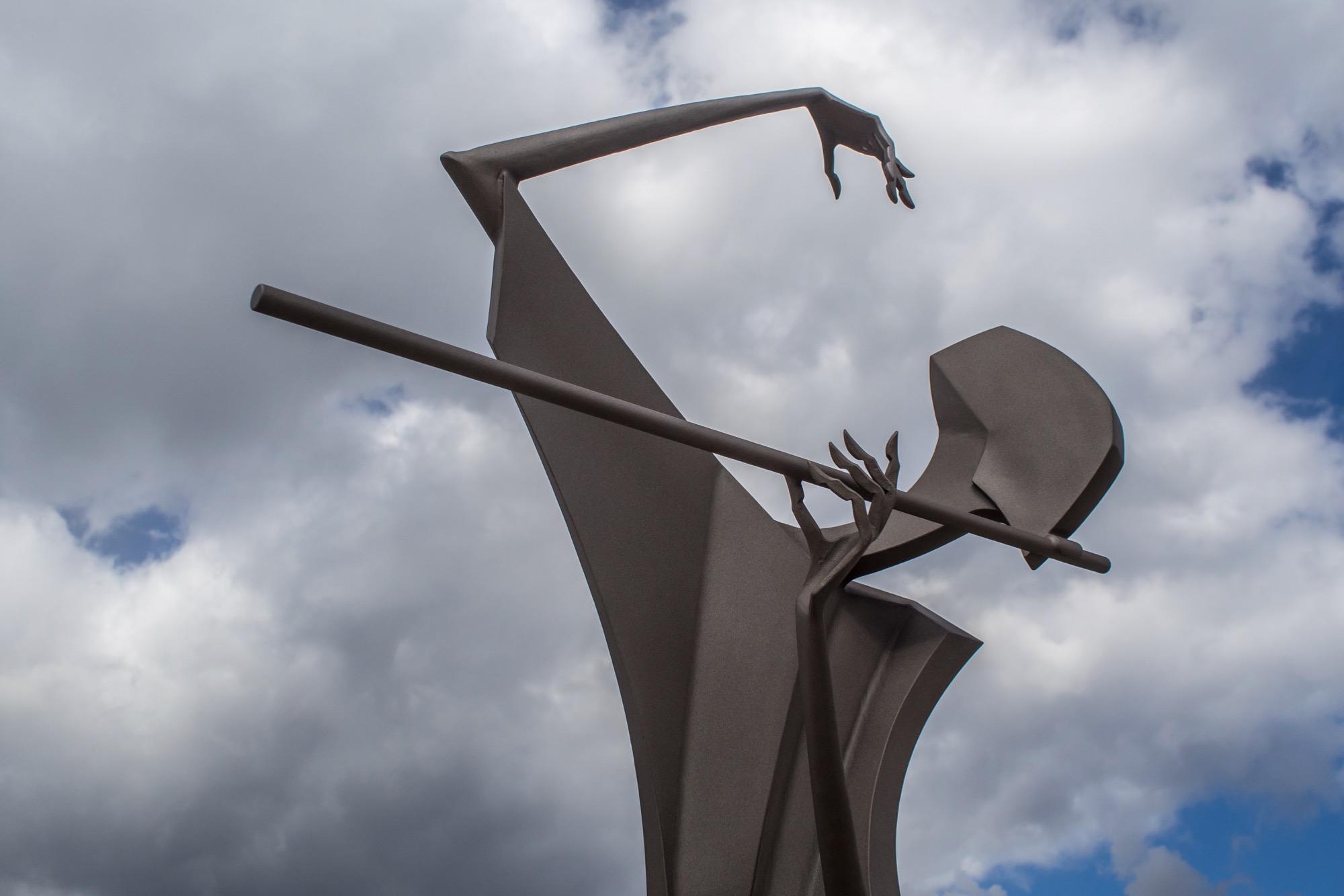 Kolonáda Lednice- socha