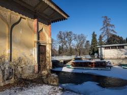 Zámecký park - splav
