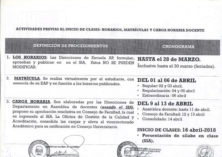 ACTIVIDADES PREVIAS AL INICIO DE CLASES