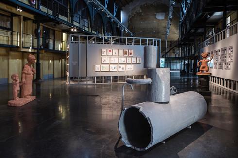 Installation view: De Vleeshal