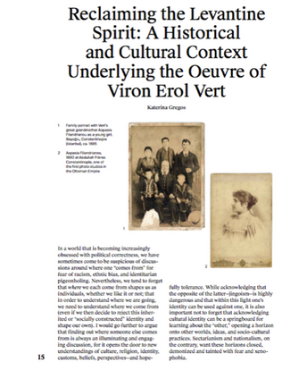 Family Matters: Conversations about Old Spirits, the Question of Belonging, and Complementary, Monograph Viron Erol Vert