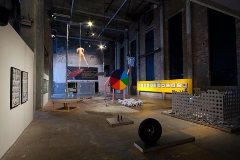 Installation view: Röda Sten Konsthall