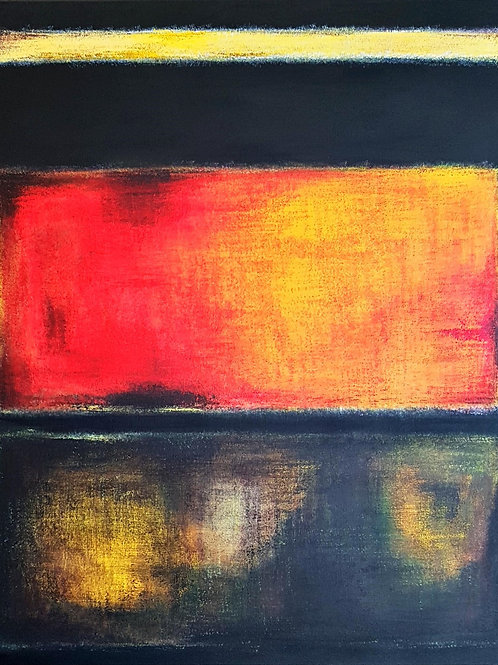 Enlightening - tableau acrylique