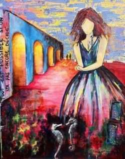 The girl's dream