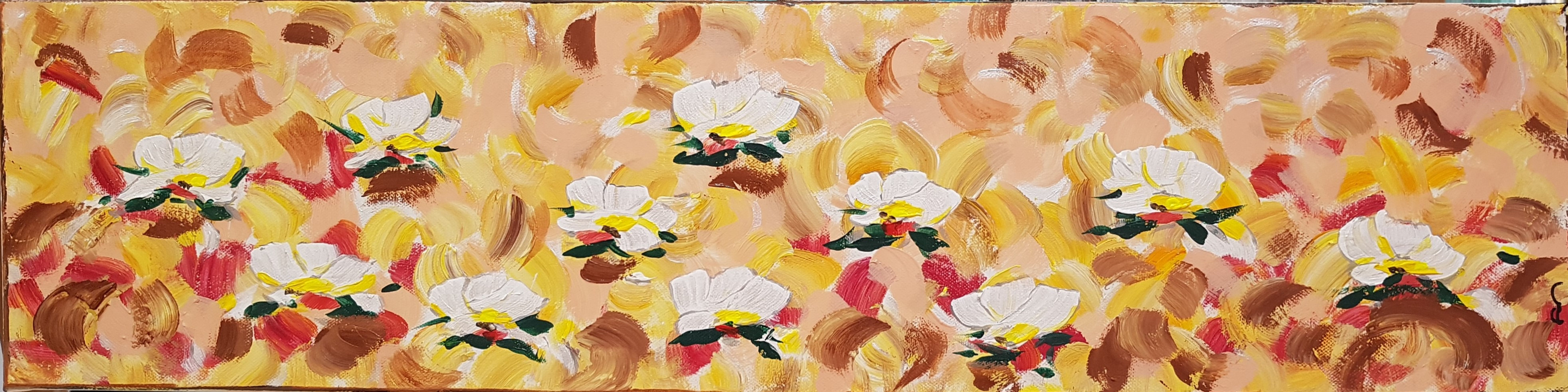 Spring flowers II (diptyque)