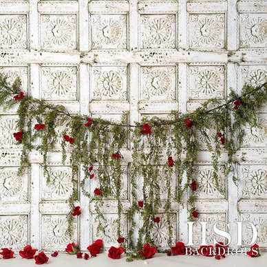 Roses Valentines Backdrop