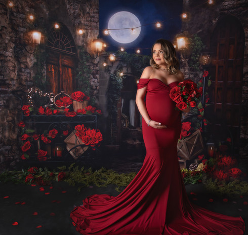 Valentine's Day Maternity Portrait