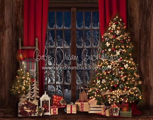 Holiday Eve Large Window