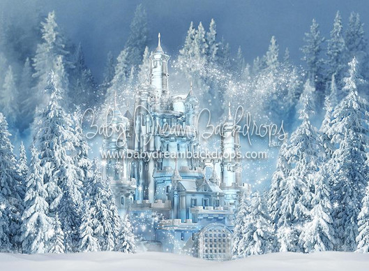 Frozen Magic Backdrop