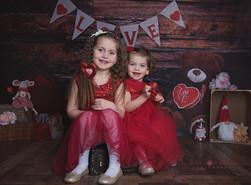 love, valentine girls