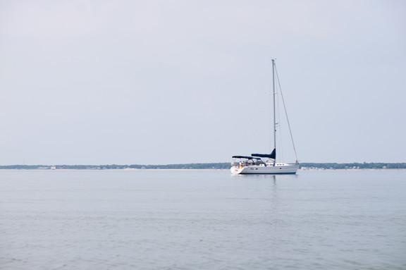 Sailboat on a Bay