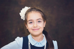 Little Girl Formal School Pictures
