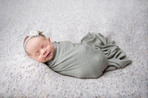 Styled Newborn photo shoot
