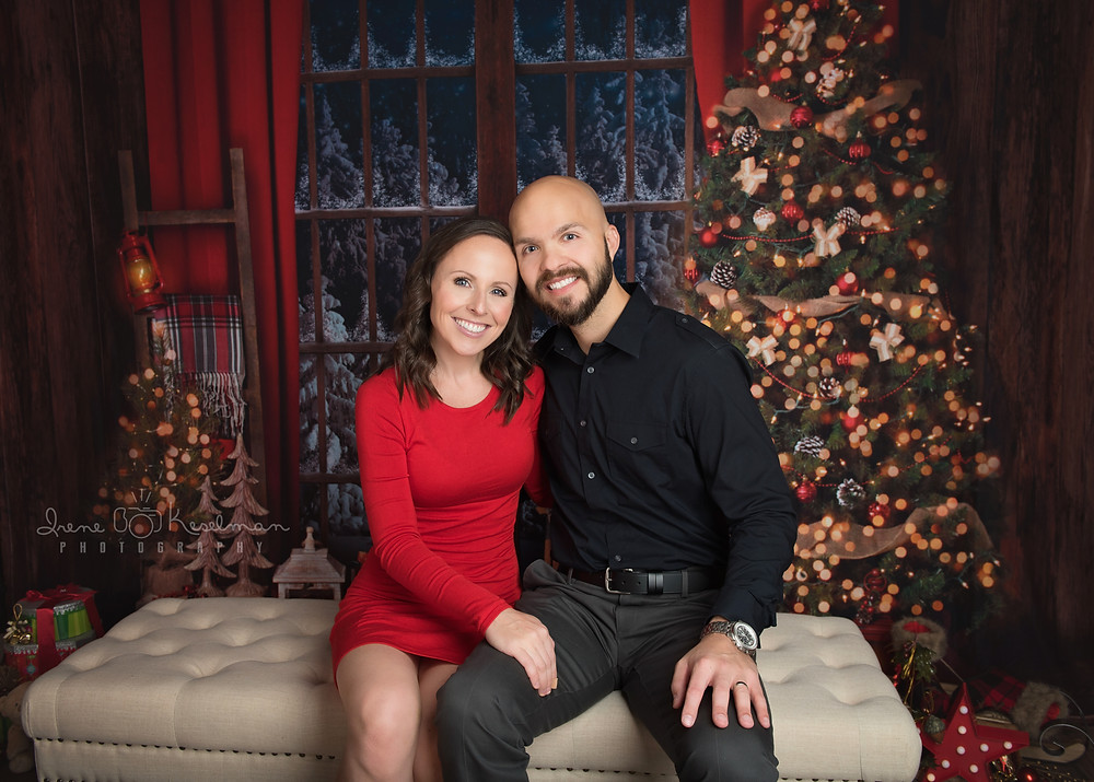 Couple Christmas Portrait Session