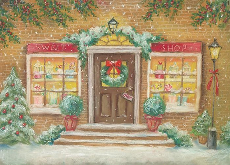 Toy Shop Holiday Background