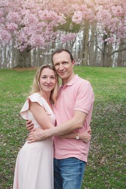 Couple Portrait in a Park