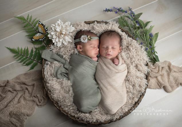 Newborn Twins Photoshoot