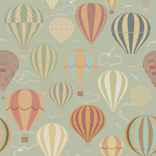 Air Balloons Background